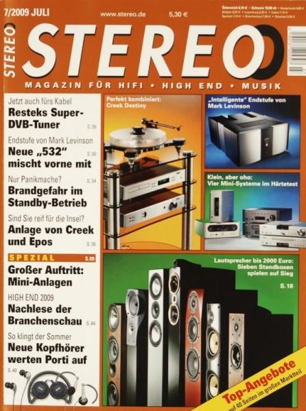 Stereo 7/2009 Zeitschrift