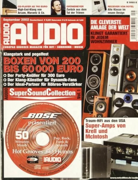 Audio 9/2002 Zeitschrift