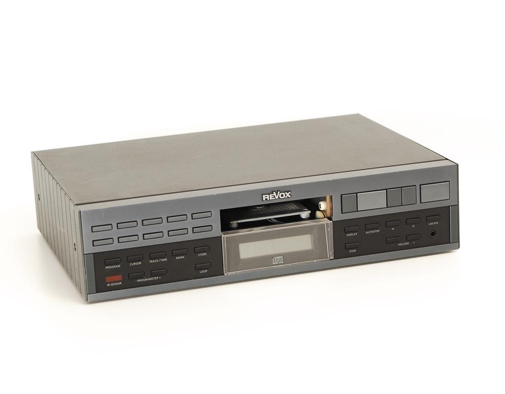 revox b 226 e cd player cd player bastlerger te. Black Bedroom Furniture Sets. Home Design Ideas