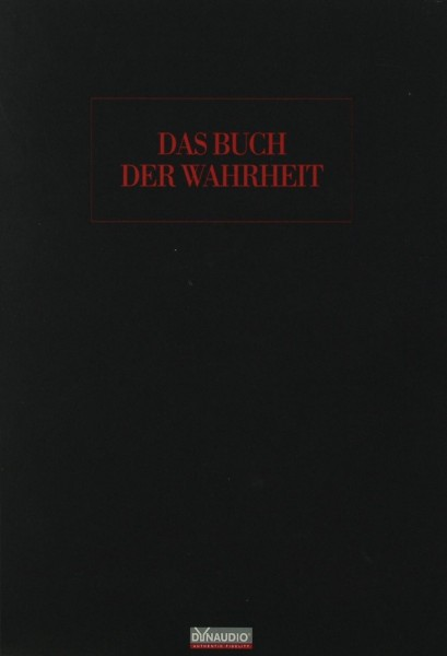 Dynaudio Das Buch der Wahrheit Prospekt / Katalog