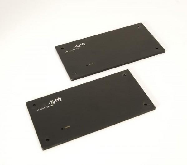 AVM evolution M3 Frontplatten schwarz
