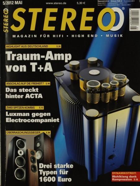 Stereo 5/2012 Zeitschrift