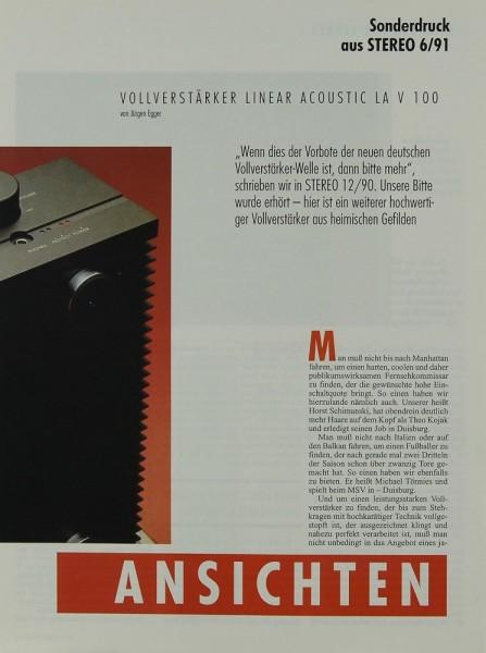 Linear Acoustic LA V 100 Testnachdruck