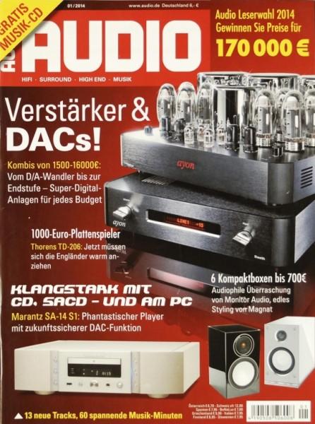Audio 1/2014 Zeitschrift