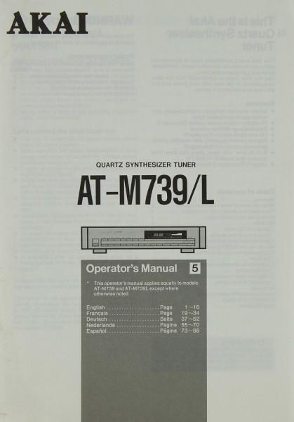 Akai AT-M 739 / L Bedienungsanleitung