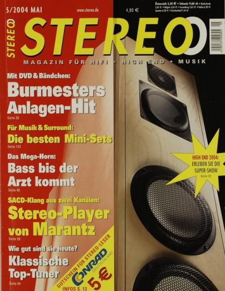 Stereo 5/2004 Zeitschrift