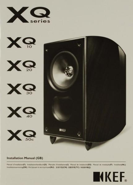 KEF XQ Series Bedienungsanleitung