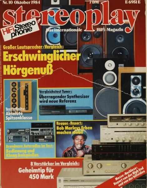 Stereoplay 10/1984 Zeitschrift