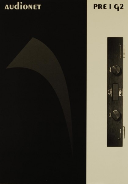 Audionet PRE I G 2 Prospekt / Katalog