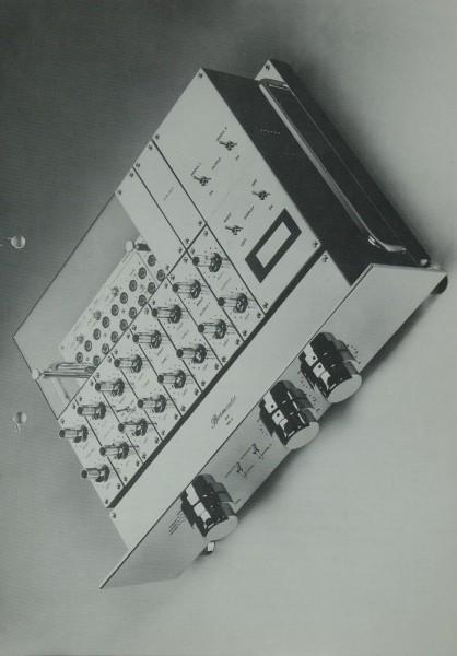 Burmester 808 MK 3 Prospekt / Katalog