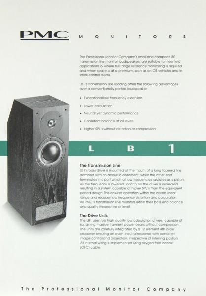 PMC LB 1 Prospekt / Katalog