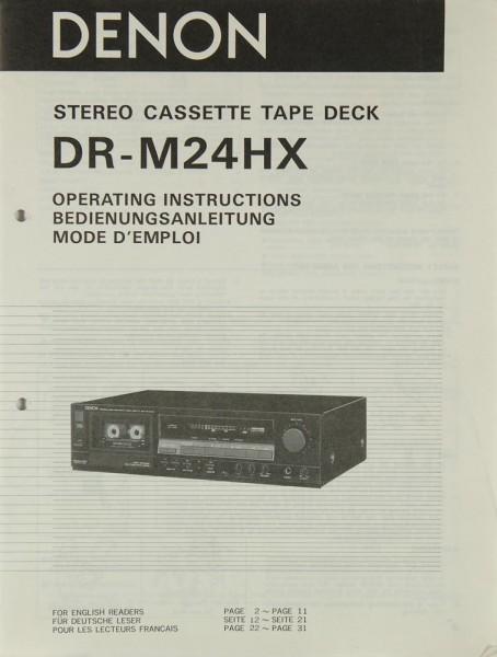 Denon DR-M 24 HX Bedienungsanleitung
