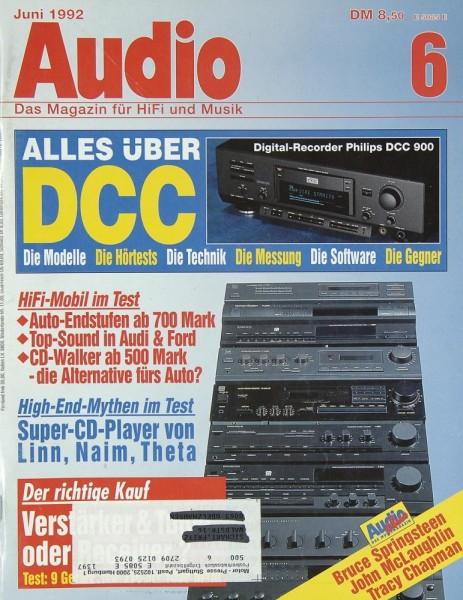 Audio 6/1992 Zeitschrift