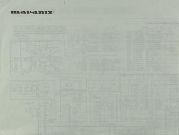 Marantz Model ST-64/16 Schaltplan / Serviceunterlagen