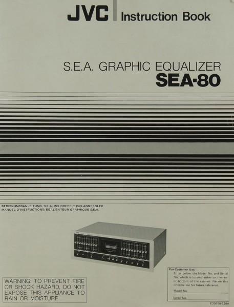 JVC SEA-80 Bedienungsanleitung