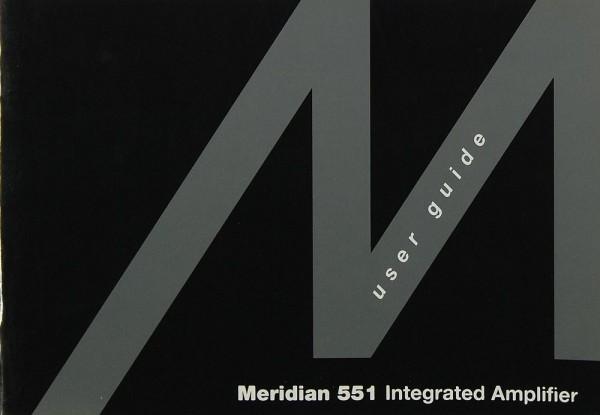 Meridian 551 Bedienungsanleitung