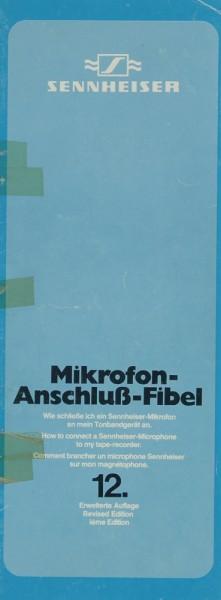 Sennheiser Mikrofon-Anschluß-Fibel Bedienungsanleitung