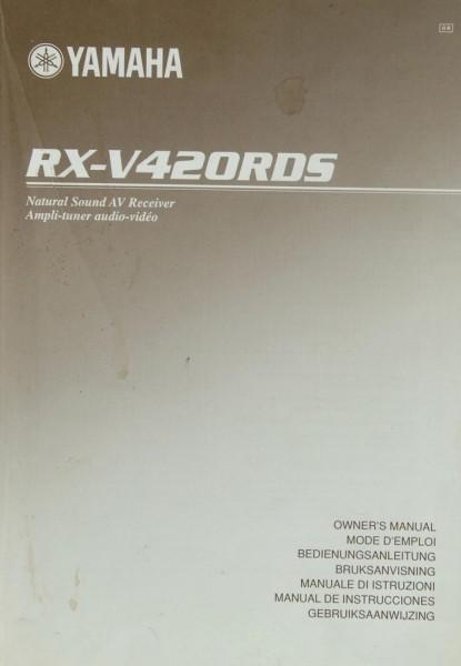 Yamaha RX-V 420 RDS Bedienungsanleitung