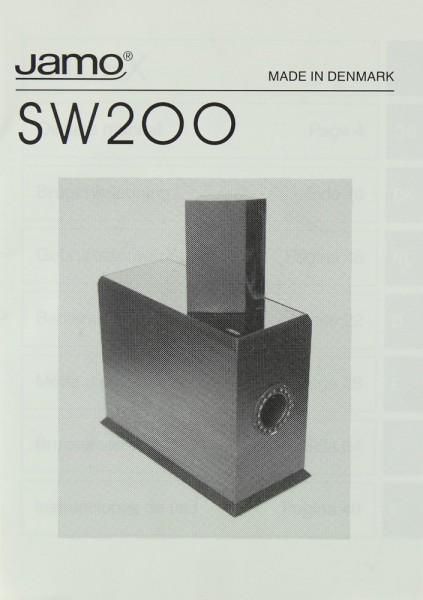 Jamo SW 200 Bedienungsanleitung