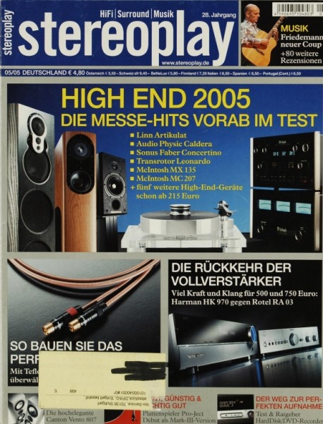 Stereoplay 5/2005 Zeitschrift