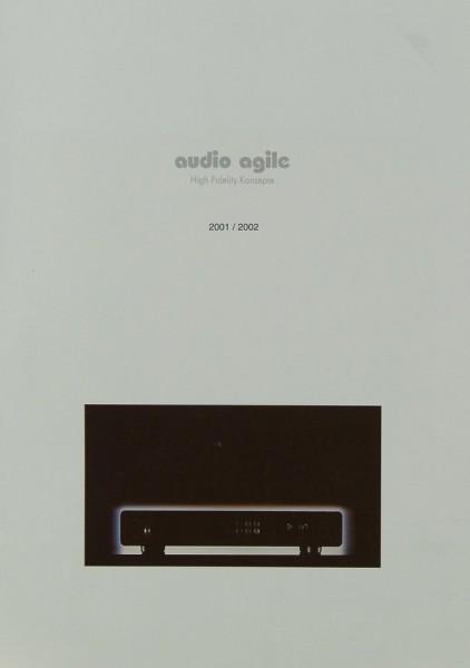 Audio Agile High Fidelity Konzepte 2011 / 2002 Prospekt / Katalog