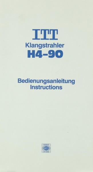 ITT H4-90 Bedienungsanleitung