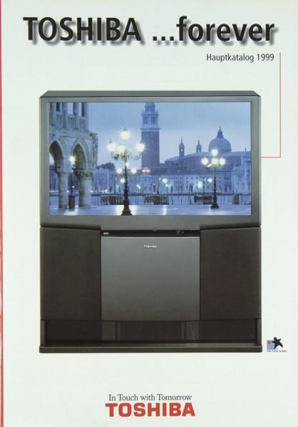 Toshiba Hauptkatalog 1999 Prospekt / Katalog
