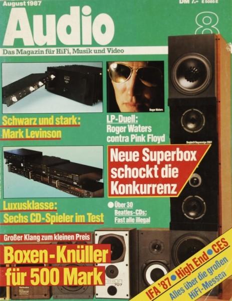 Audio 8/1987 Zeitschrift