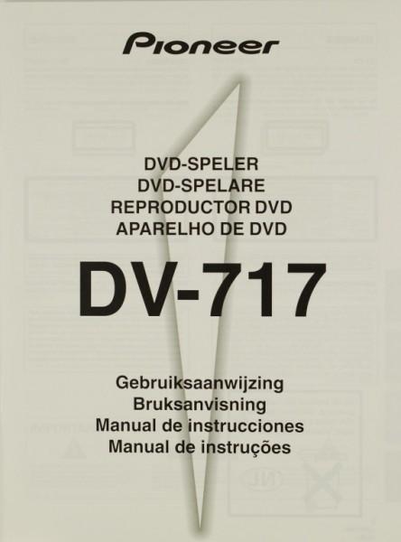 Pioneer DV-717 Bedienungsanleitung