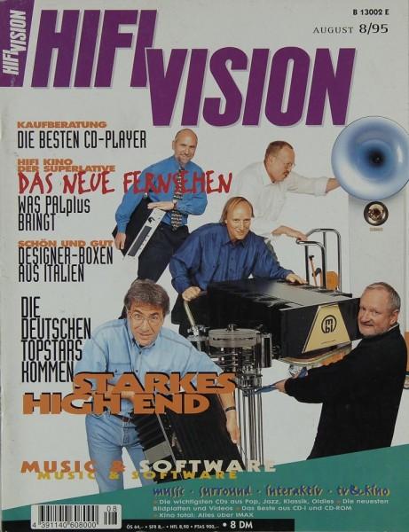 Hifi Vision 8/1995 Zeitschrift