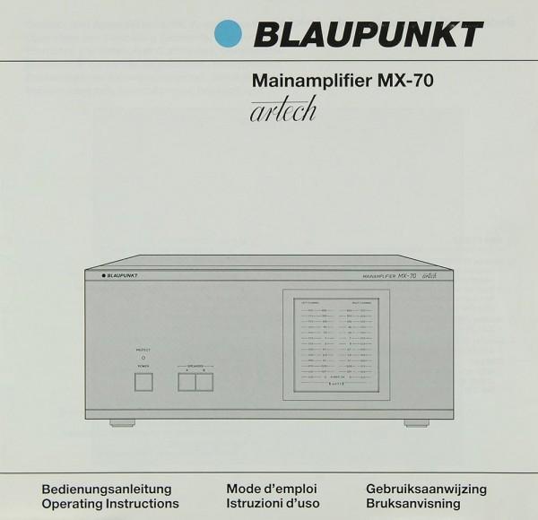 Blaupunkt MX-70 Bedienungsanleitung