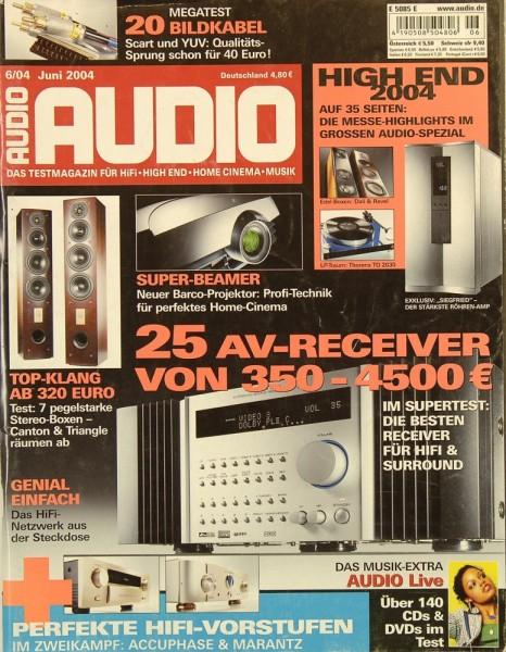 Audio 6/2004 Zeitschrift
