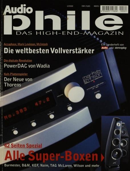 Audiophile 1/2000 Zeitschrift