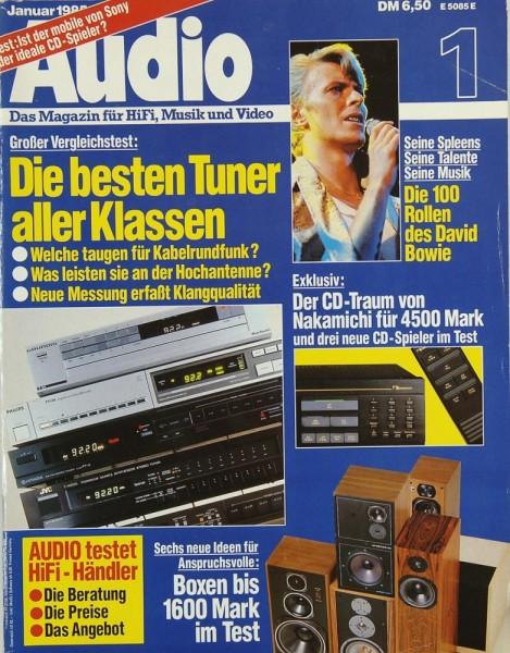 Audio 1/1985 Zeitschrift