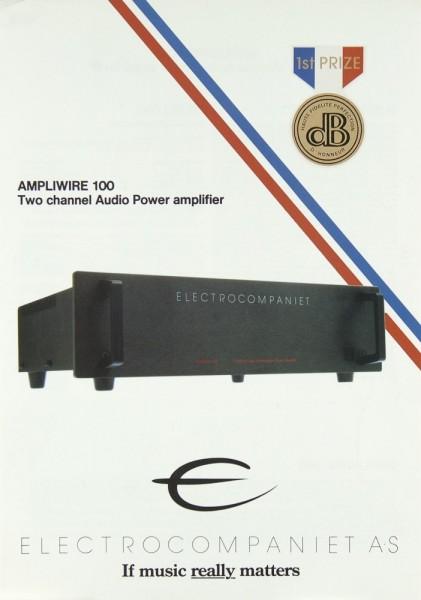 Electrocompaniet Ampliwire 100 Prospekt / Katalog