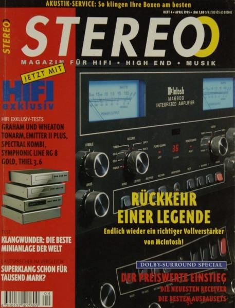 Stereo 4/1995 Zeitschrift
