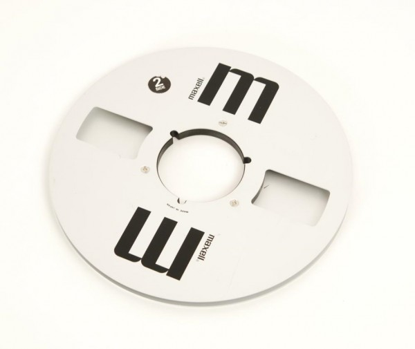 Maxell MR-10 27er Leerspule NAB Metall silbern