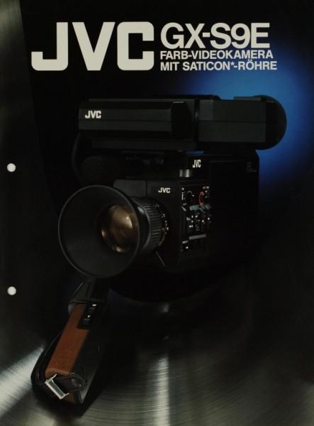 JVC GX-S9E Prospekt / Katalog