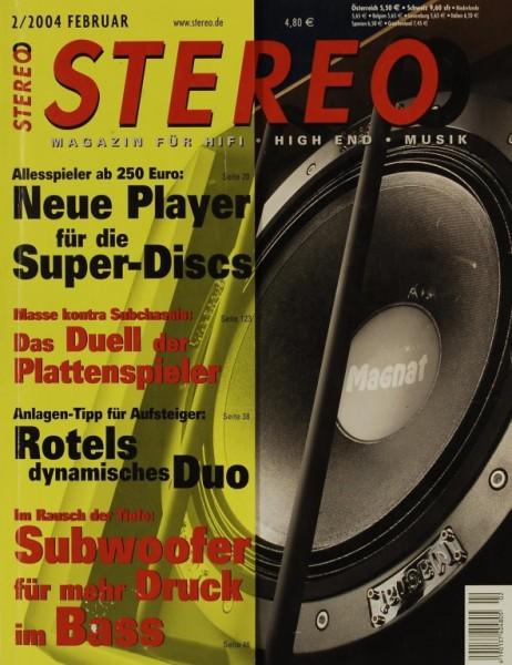 Stereo 2/2004 Zeitschrift