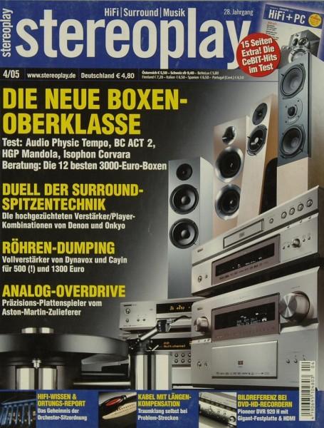 Stereoplay 4/2005 Zeitschrift