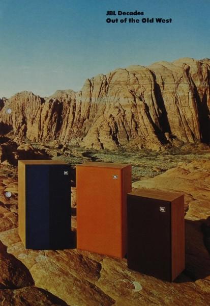JBL JBL Decades - Out of the Old West Prospekt / Katalog