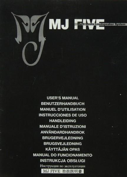 MJ MJ Five Bedienungsanleitung