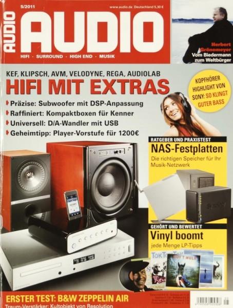 Audio 5/2011 Zeitschrift