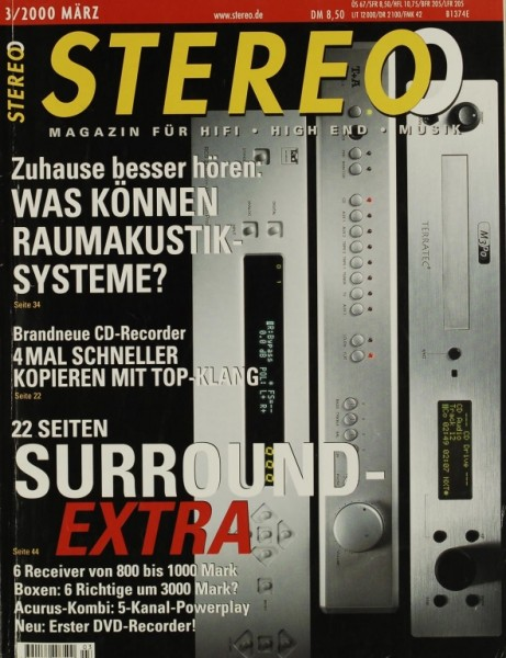 Stereo 3/2000 Zeitschrift