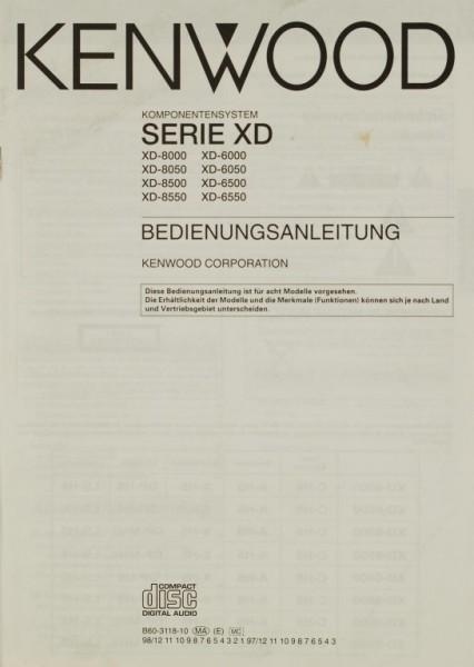 Kenwood Serie XD Bedienungsanleitung