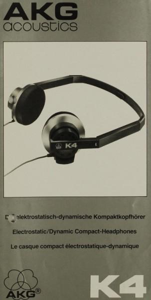 AKG acoustics K 4 Prospekt / Katalog