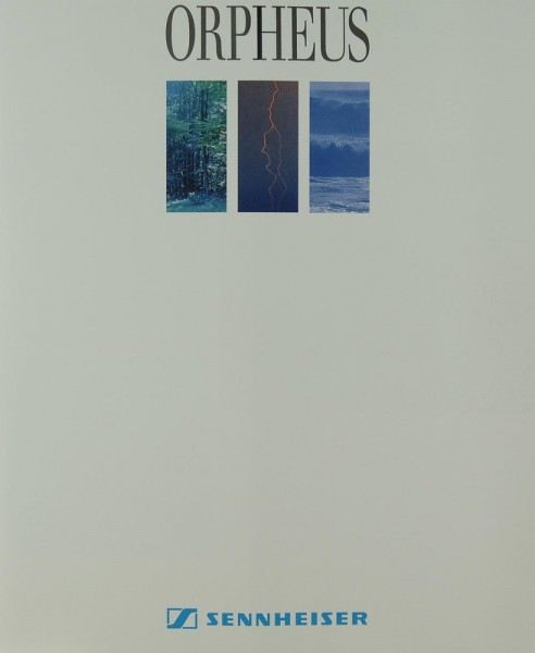 Sennheiser Orpheus Prospekt / Katalog