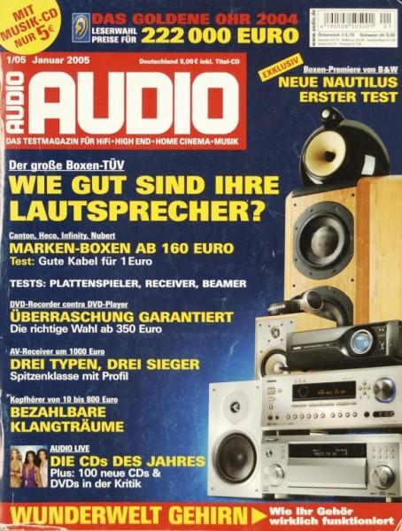 Audio 1/2005 Zeitschrift