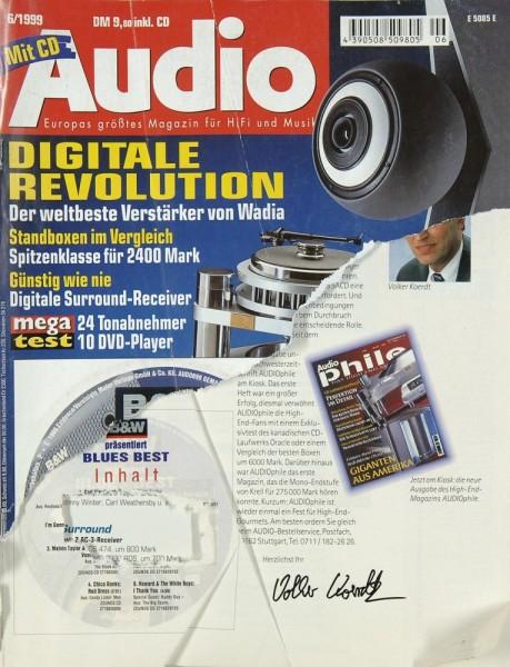 Audio 6/1999 Zeitschrift