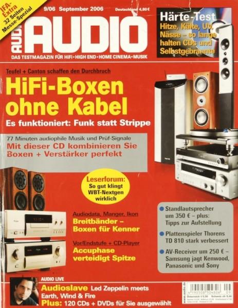 Audio 9/2006 Zeitschrift
